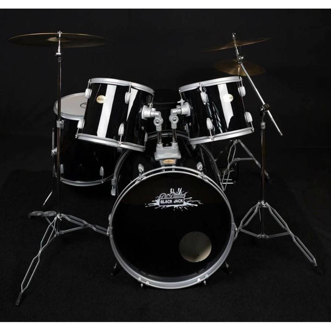 Dr. Drums Smashed Up Drumset (Metallic Silver)