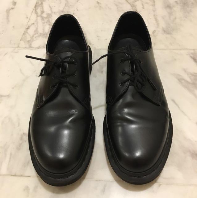 doc martens 1461 mono black