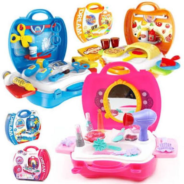 Dream Suitcase Kitchen Set Doctor Set Tools Set