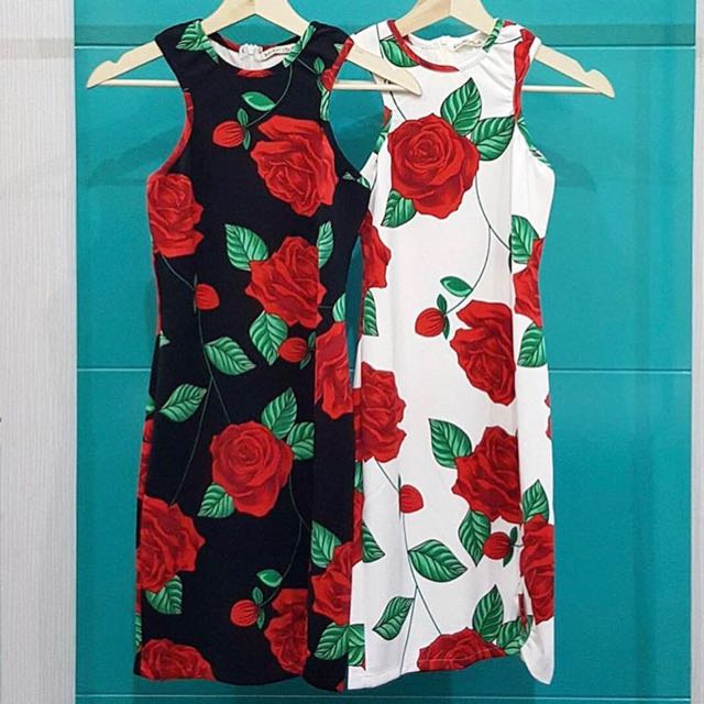 Dress Rose Halter
