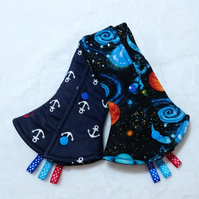 Drool Pads - Space and Anchor