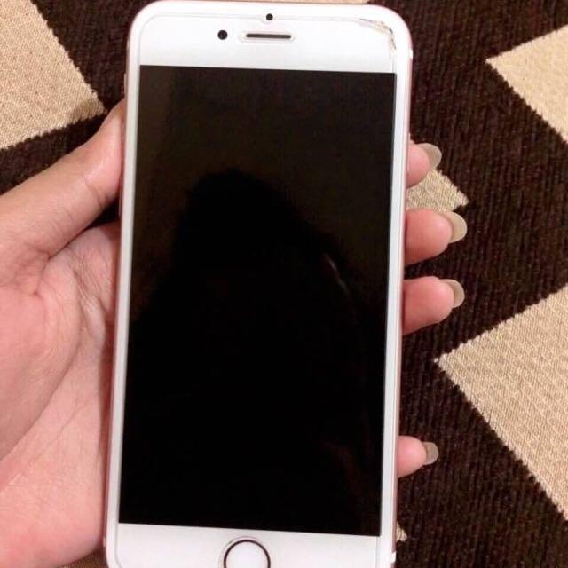 EX-CEWE MULUS Iphone 6s - 128gb - Rosegold !!