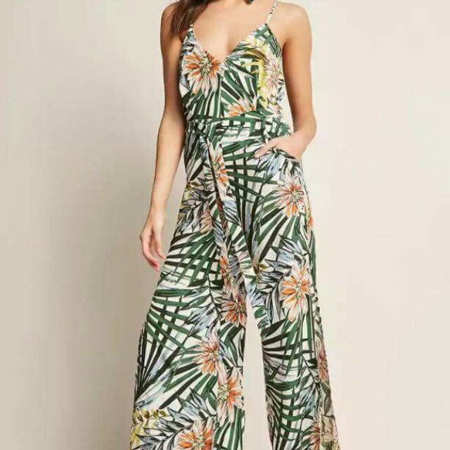 Feather jumpsuit/shi