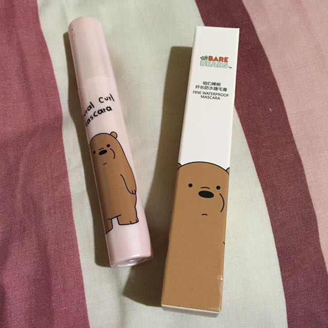 Fine Waterproof Mascara We Bare Bears
