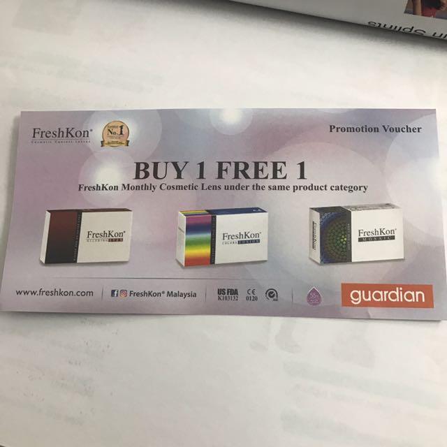 Freshkon Buy 1 Free 1 Contact Lens Voucher