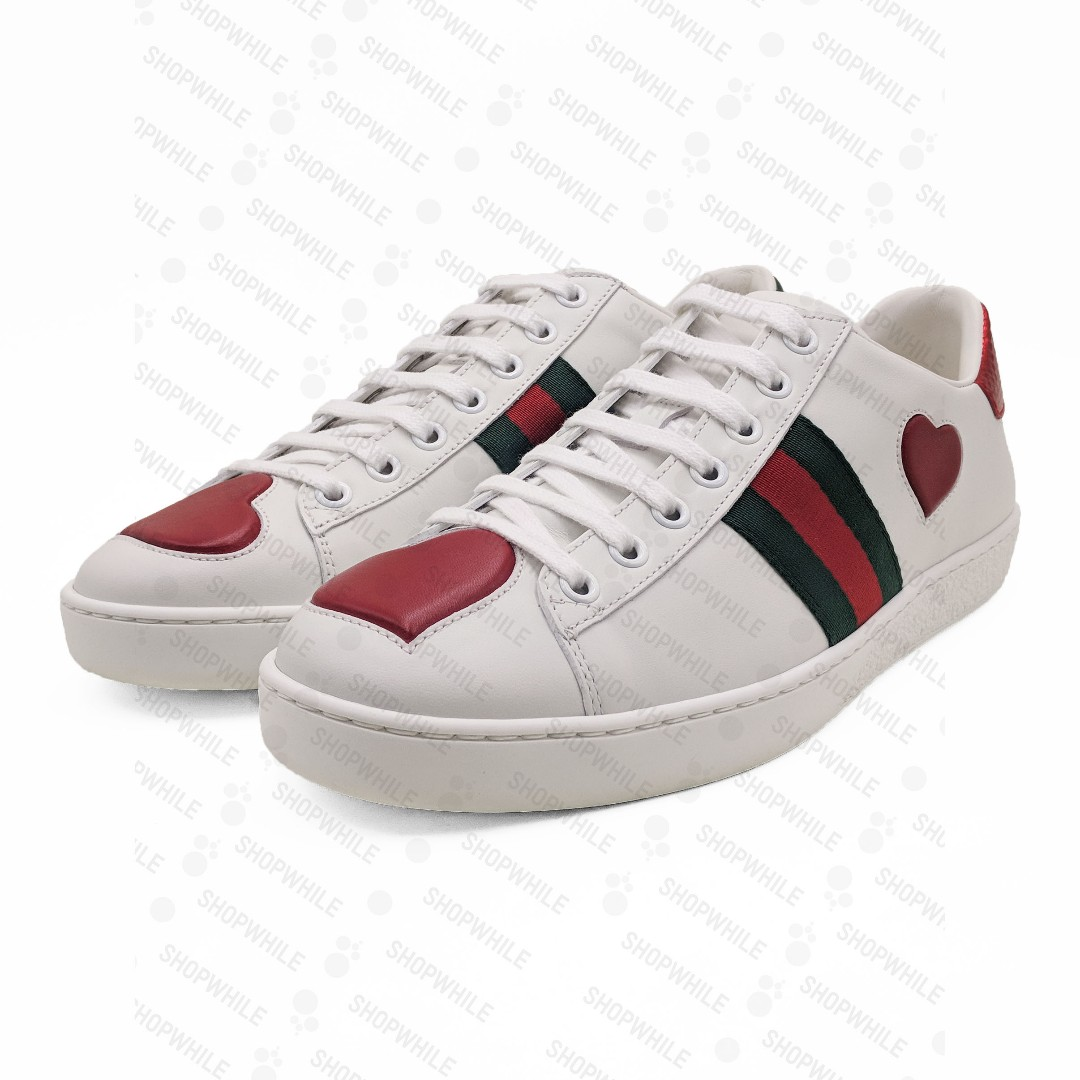 d078e3134 Gucci Ace embroidered sneaker White Leather (435638-A38MO-9074), Men's  Fashion, Men's Footwear on Carousell