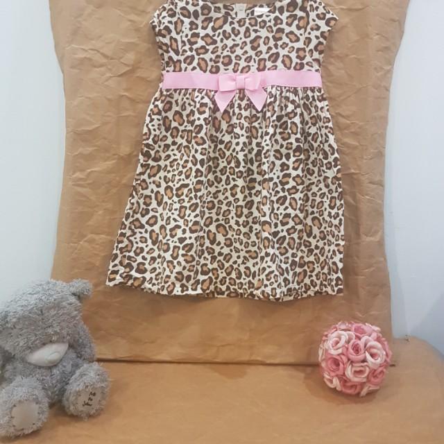 #MakinTebel Gymboree Leopard Dress 2th