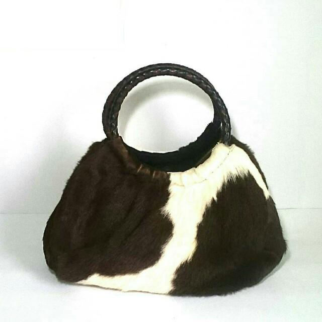 Handbag kulit domba asli