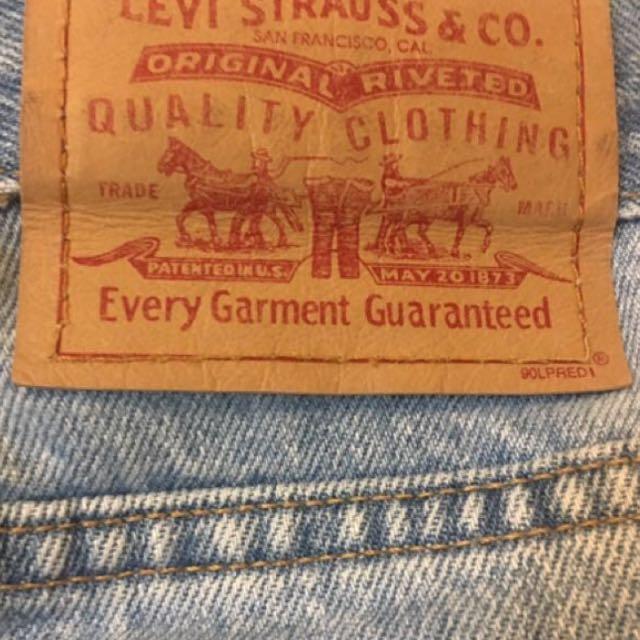 High Waisted Vintage Levis Denim Jeans