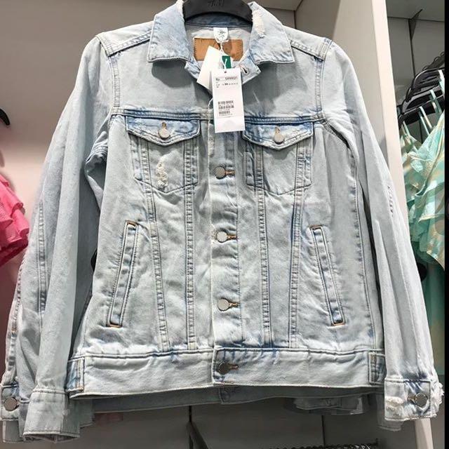 H&M denim jacket jeans