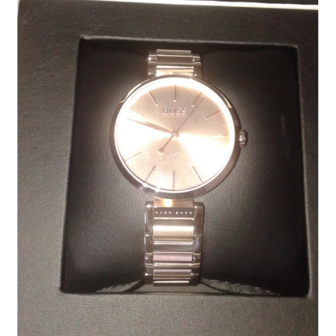 e780e2d4b0b9 Hugo Boss Allusion Ladies Watch, Women's Fashion, Watches on Carousell