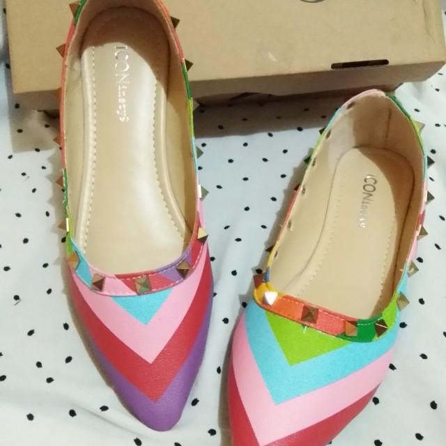 Iconinety9 flat shoes