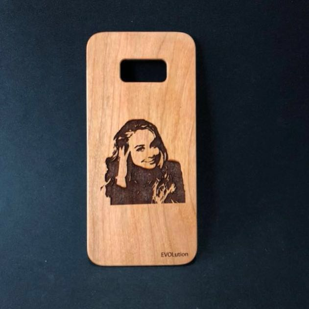 iPhone and Samsung Custom Wood Casing