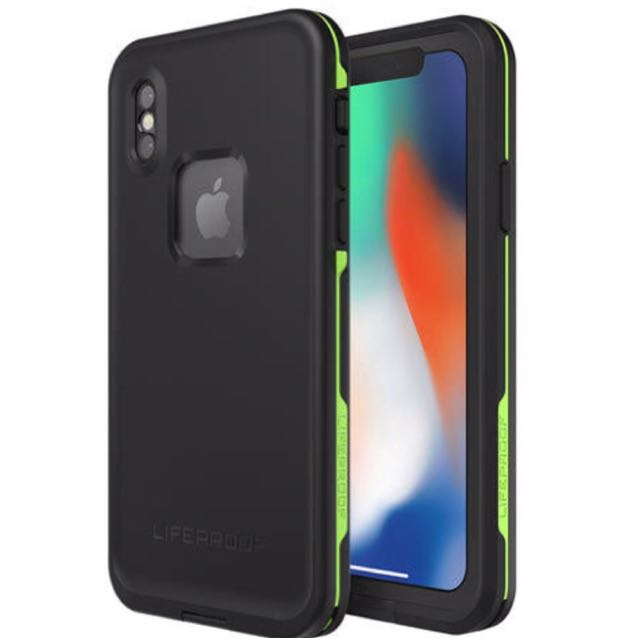 iPhone X Lifeproof Fre Case (New)