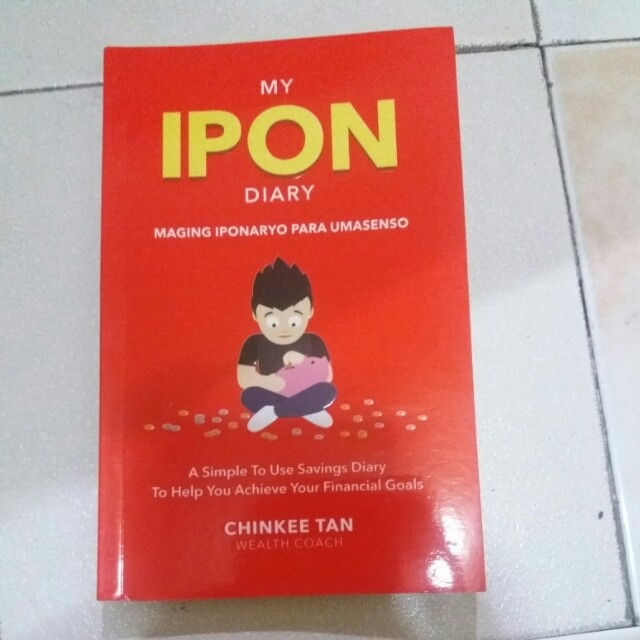 Ipon Diary by Chinkee Tan