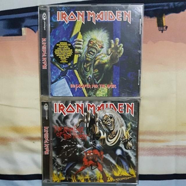 Iron Maiden Original CD Bundle