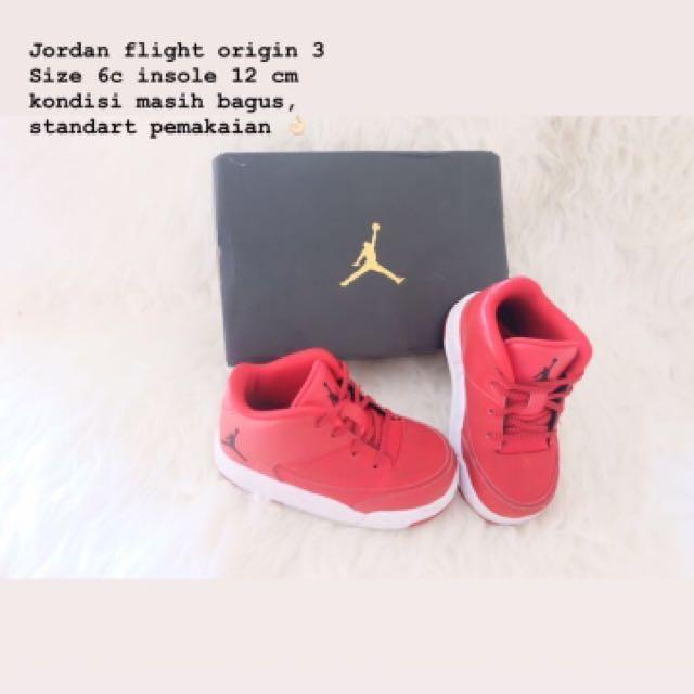 Jordan flight origin