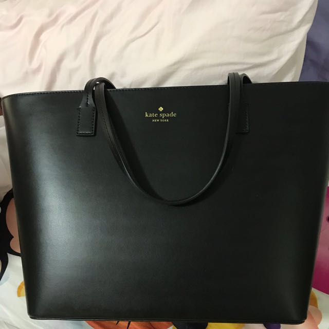 78de0239bb Kate Spade Black Large Tote Bag
