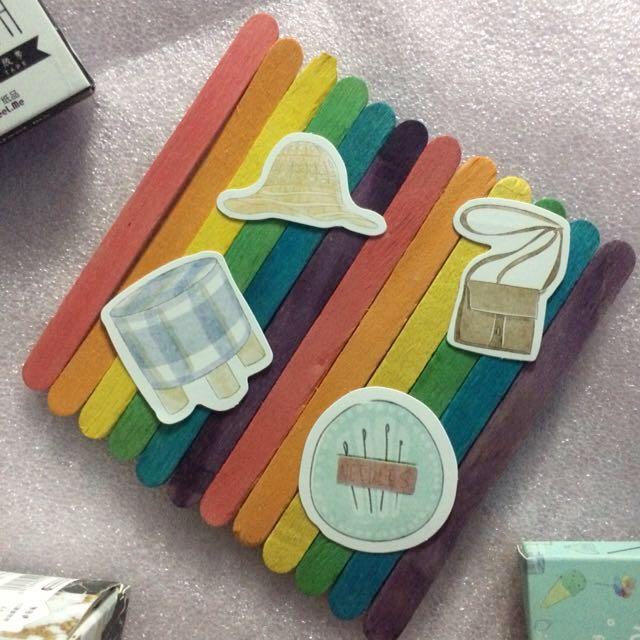 Kawaii Summer Fun Stickers