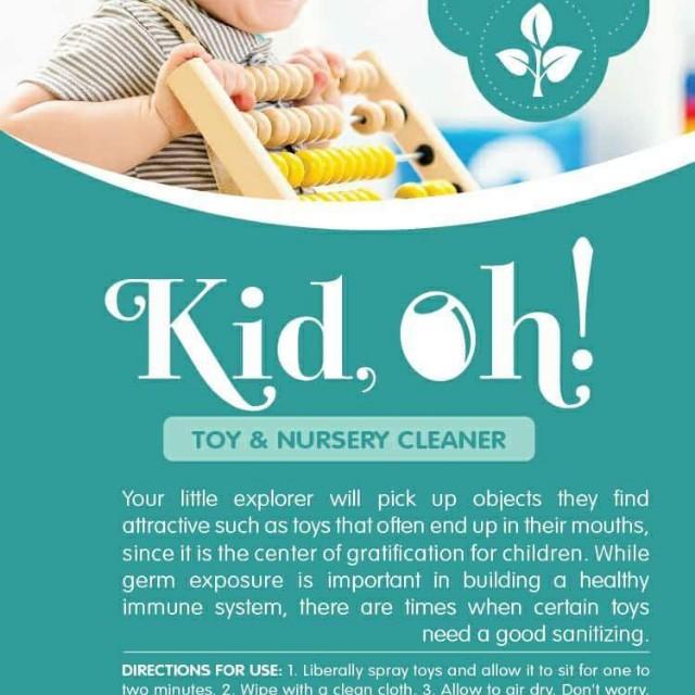 Kid oh! Toy & Nursery cleaner