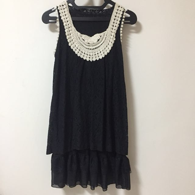 Korea Black Dress