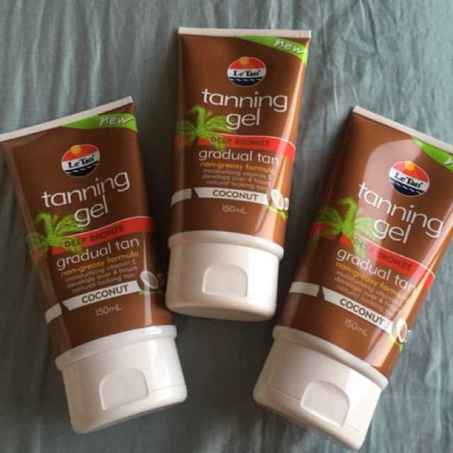 Le Tan tanning gel