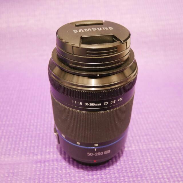 Lensa SAMSUNG NX 50-200