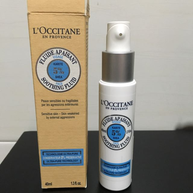 L'Occitane Soothing Fluid