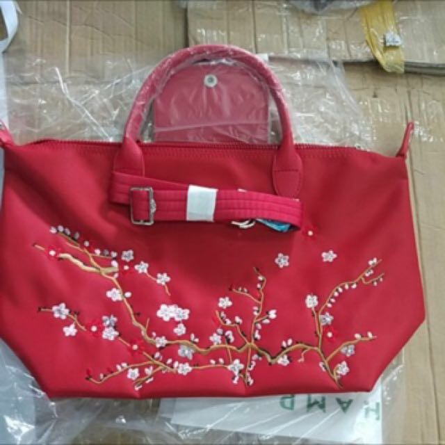 Longchamp Cherry Blossoms