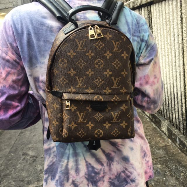 Louis Vuitton Palm Springs Pm Back Pack Rush Luxury