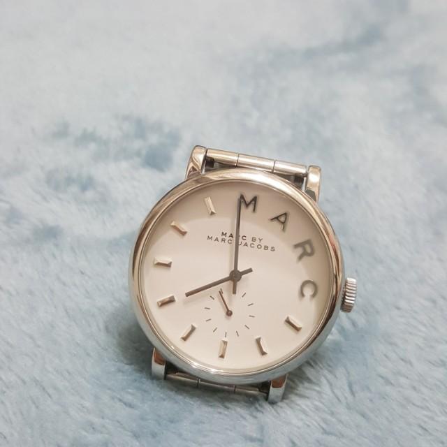 Marc by marc jacbos銀色手錶女用錶保存良好有盒子