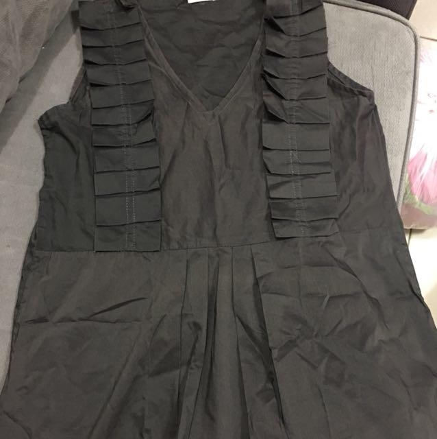Mimi charcoal mini dress