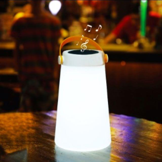 Mooni Led Lantern Bluetooth Portable Speaker