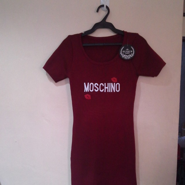 moschino bodycon dress