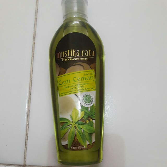 Mustika ratu hair oil
