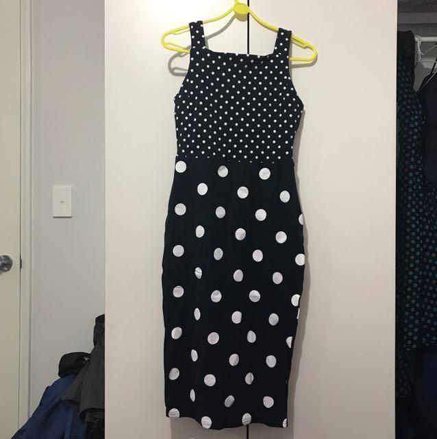 Navy dress NEW