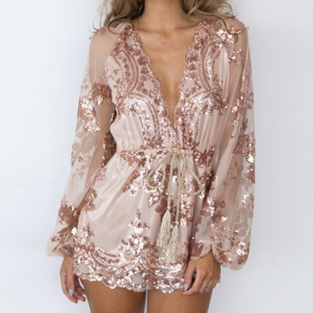 New Years Eve Romper