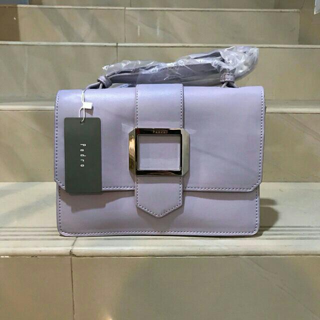 NEW!!PEDRO SLING BAG SOFT PURPLE