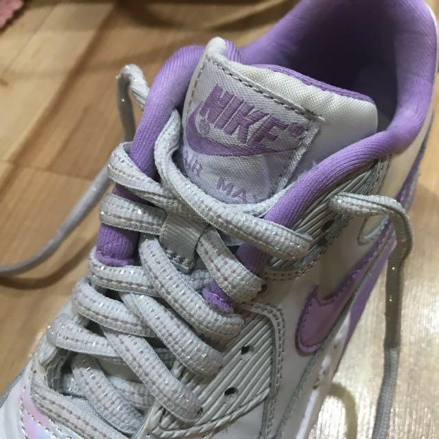 Nike Airmax Purple Holographic