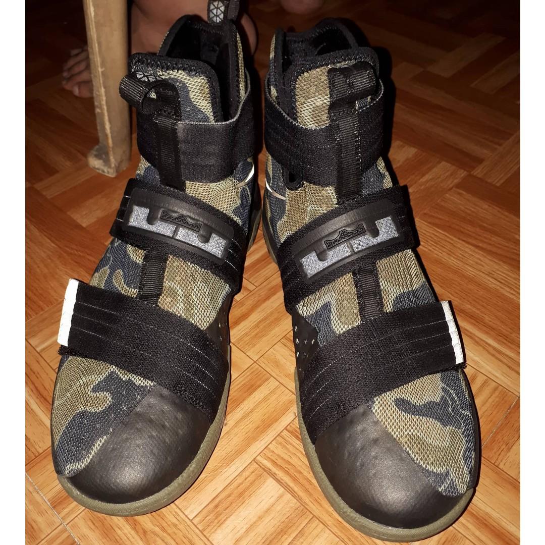 Zoom LeBron Soldier 10 (Camo)