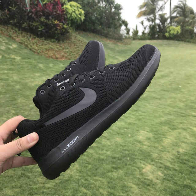 hot sale online 8f8f4 4b841 Nike Zoom Pegasus All Black