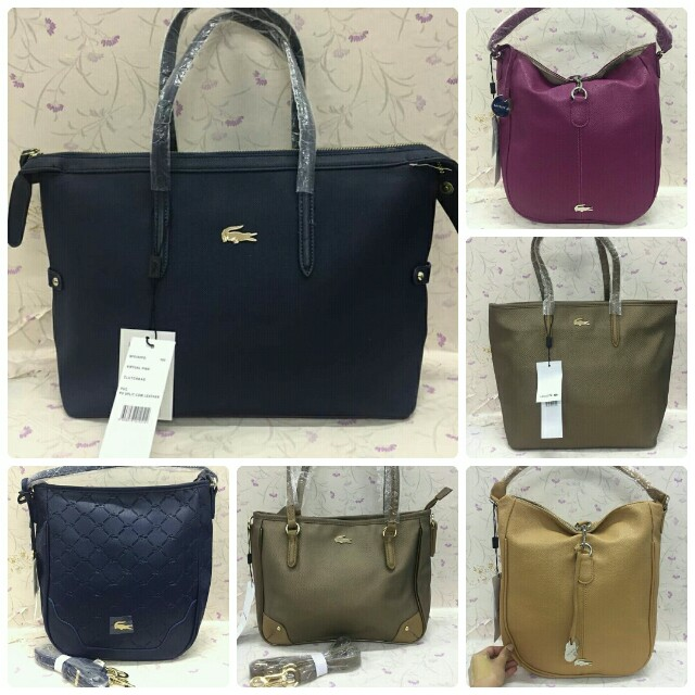 NW- SALE! OEM Lacoste Bags