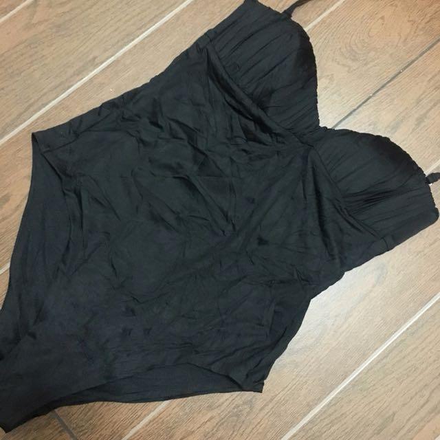 One Piece Swimsuit / Swimwear - XS