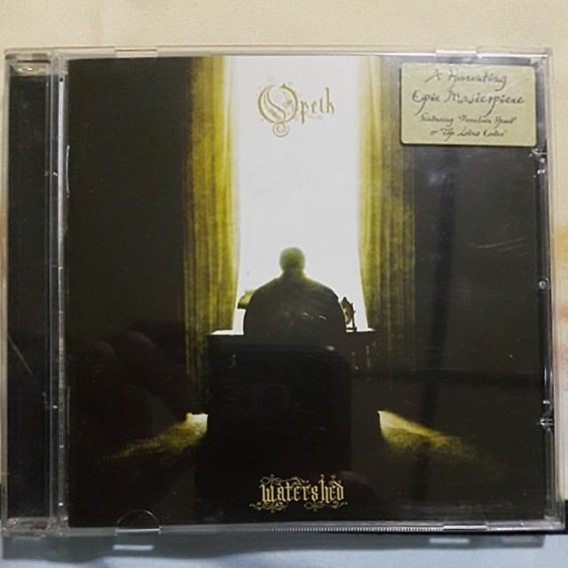 Opeth - Watershed Original CD