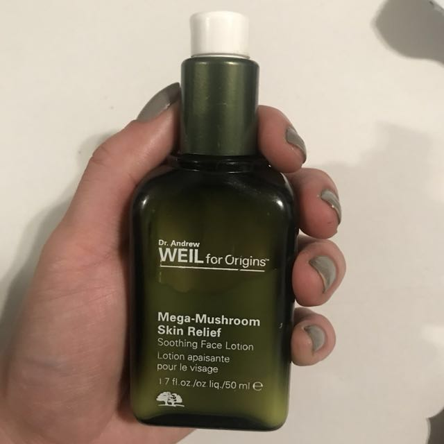 Origins mega Mushroom skin relief soothing face lotion RRP$98 Mecca