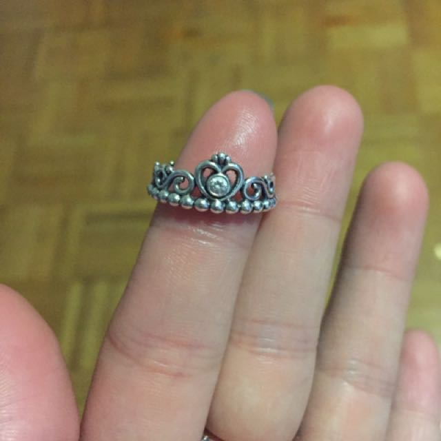 Pandora Princess Ring W/ Box