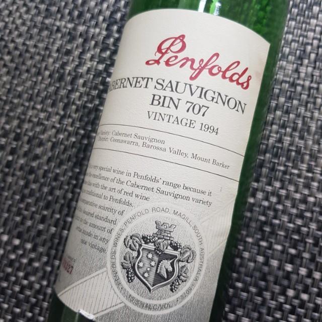 Penfold Vintage Empty Bottle