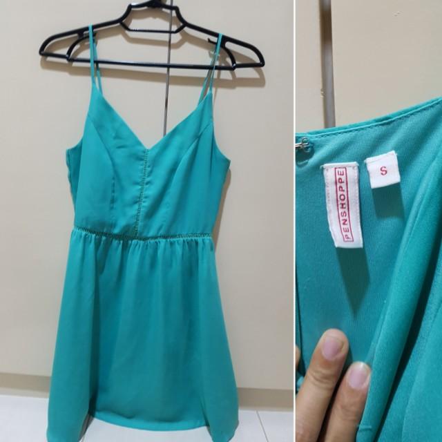 Penshoppe turquoise dress