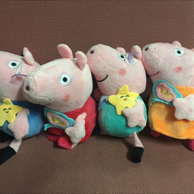 Peppa pig plush stuff Toy