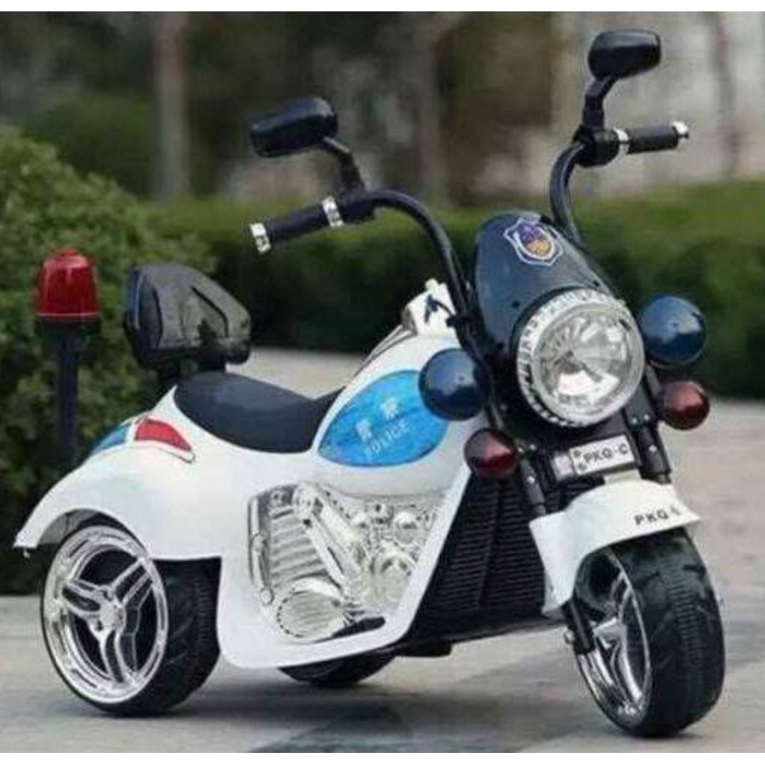 PKQ-C Police Motorcycle Ride On Motor Car For Kids